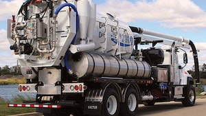 Water Recyclers - Vactor 2100 Plus with water recycling
