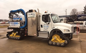 Vactor Mattracks 400 Series track conversion system