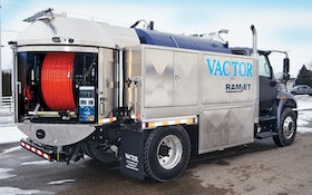 Jetters/Pressure Washers/Accessories - Truck-mounted jetter