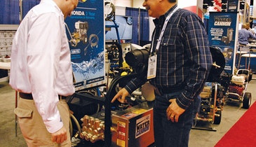 Water Cannon Pressure Washer Offers Industrial Cleaning Power