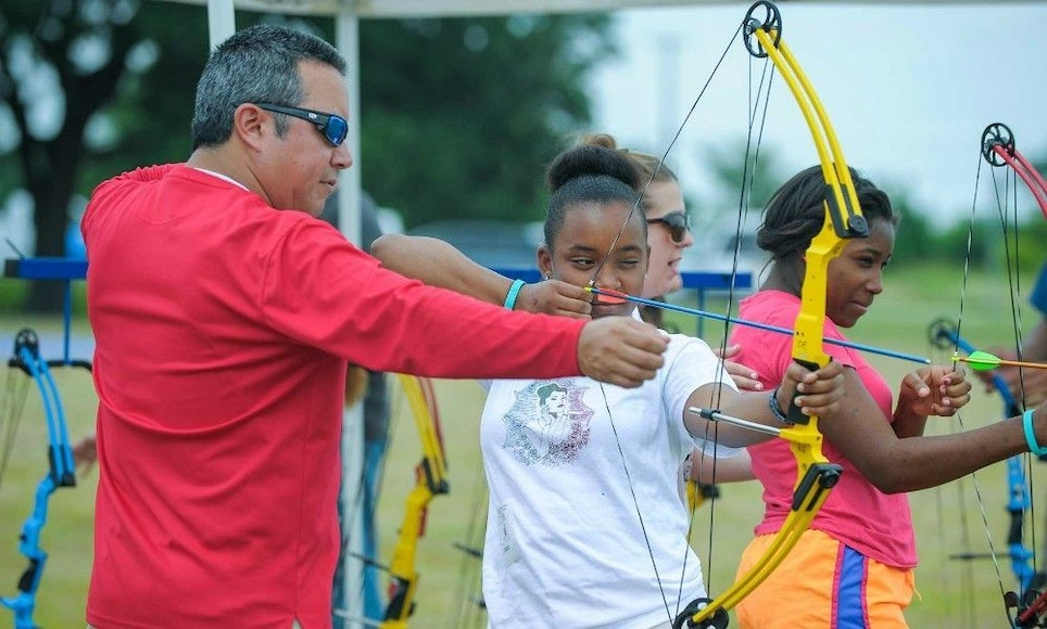 To increase awareness for your archery shop, make yourself and your staff visible at local events. (Photo courtesy of Texas Park and Wildlife.)