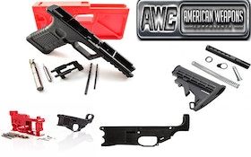 AWC Has Polymer Pistols, Lowers In Stock