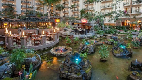 Just look at that view! (Photo: Gaylord Opryland Resort & Convention Center)​