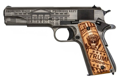Auto Ordinance Commemorative President Donald J. Trump .45 ACP