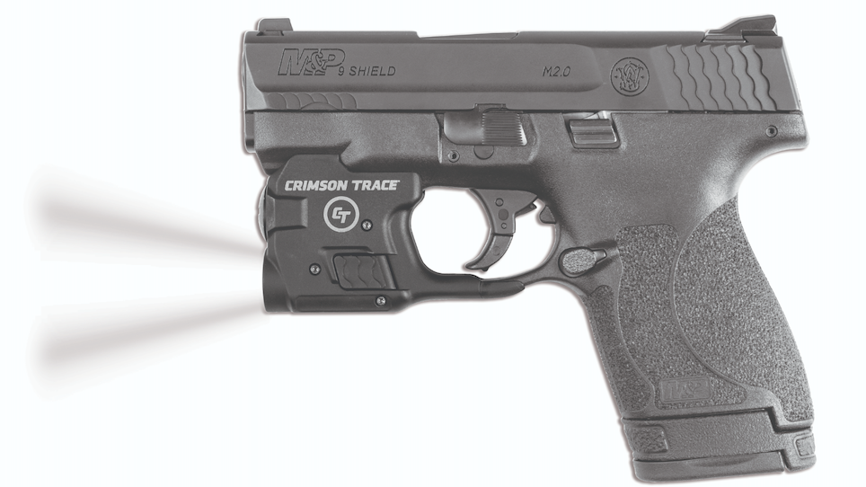 Crimson Trace Now Shipping Lightguard for M&P Shield Pistol