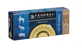 Federal Premium adds 300 Blackout to Power-Shock Copper lineup