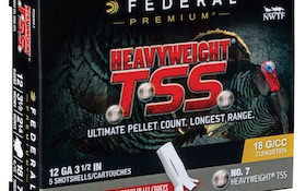 Federal Premium Launches New Heavyweight TSS Turkey Loads