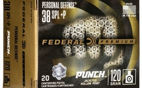 Federal Punch Defensive Handgun Ammunition