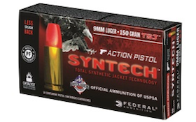 Federal Introduces Syntech Action Pistol Competition Handgun Ammunition