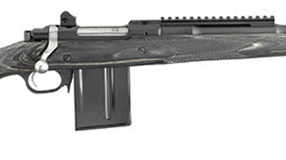 Ruger Adds 5.56 To Gunsite Scout Rifle Lineup