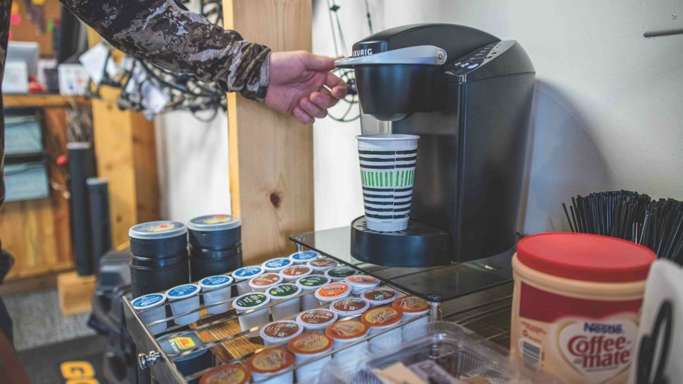 Outdoor Retailers: Should You Put in a Coffee Bar?