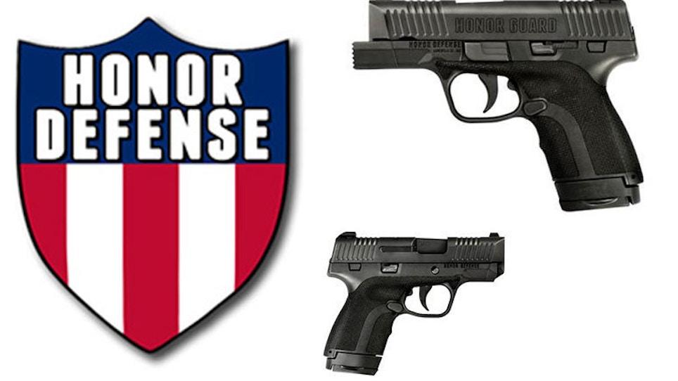Honor Defense Announces Spring Pro Staff Program For Dealer Employees