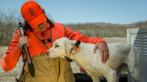 What about dog gear? High-tech e-collars are popular, and many hunters will want the GPS option to keep track of their dogs.