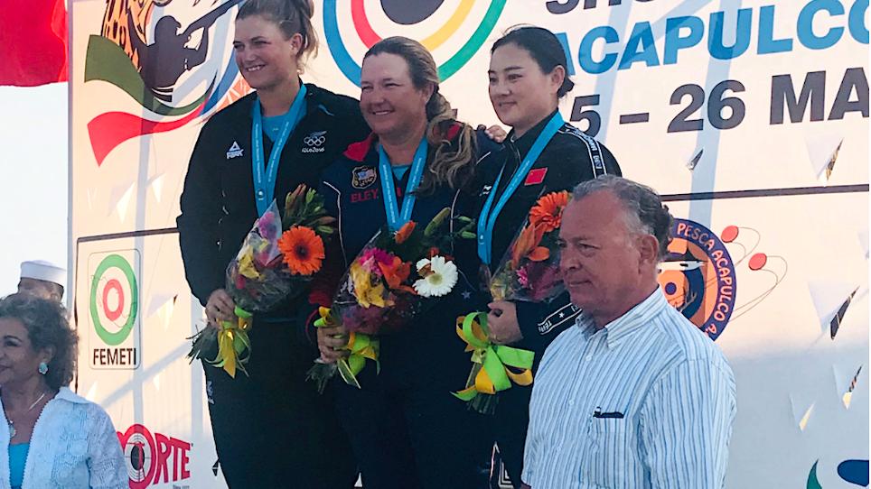 Rhode Wins Women's Skeet World Cup Gold