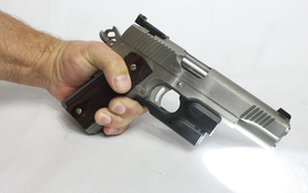 How to Add a Light or Laser to a 1911 for Customers