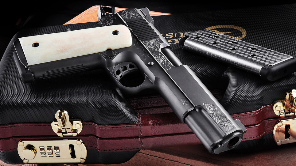 Nighthawk Custom Introduces New VIP Black 1911