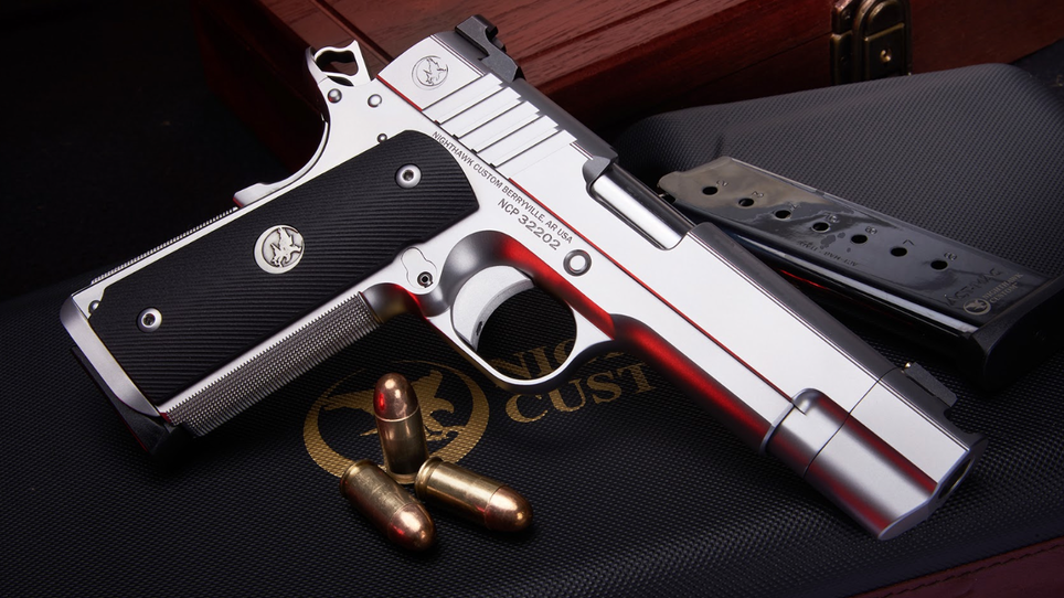 New from Nighthawk Custom: Firehawk Compensated 1911 and Interchangeable Optic System