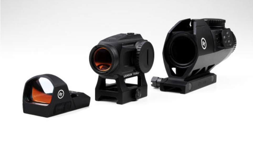 First Look: Crimson Trace Introduces Line of Red Dot Sights