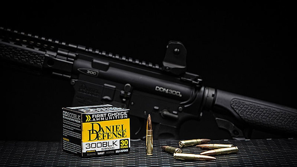 Daniel Defense Gets Into The Ammunition Business With 'First Choice' 300 Blackout
