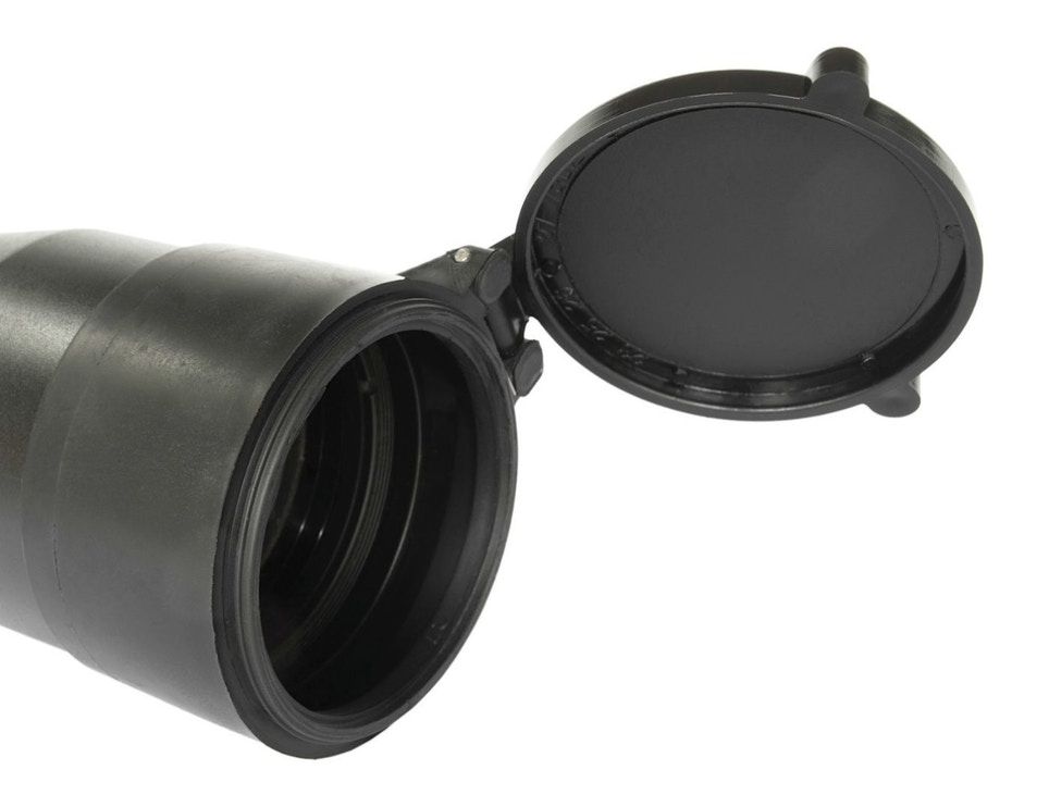 Riflescope Cover Installation and Lens Cleaning