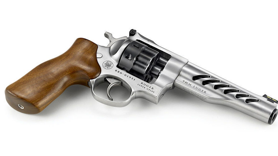 Ruger Custom Shop Super GP100 Competition Revolver Now Chambered in 9mm Luger