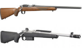 Ruger Introduces New Scout Rifle and 77/17 Configurations
