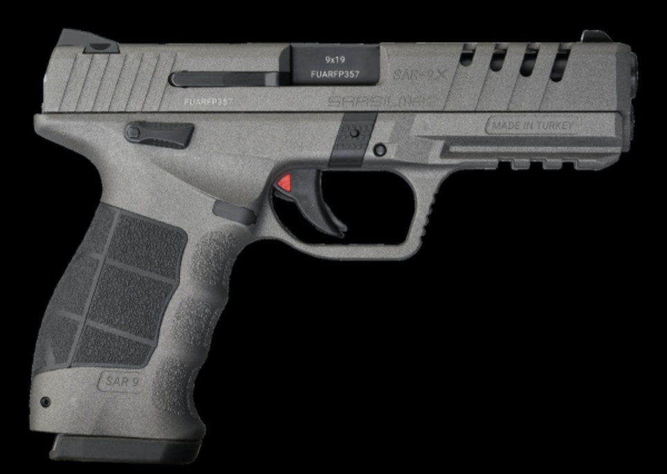 SAR9 X Platinum 9mm Pistol