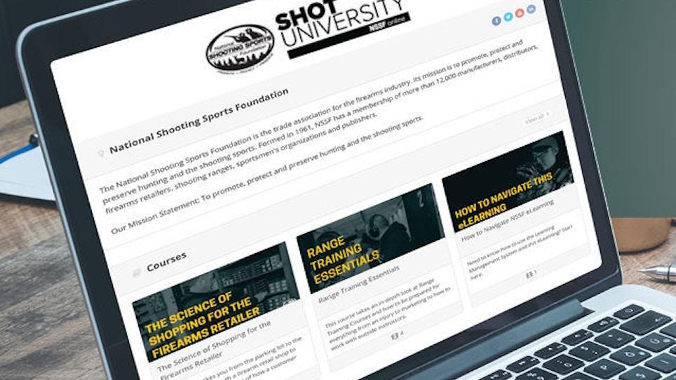 NSSF Introduces 'SHOT University' Online Member Benefit