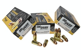 Sig Sauer Expands 9mm FMJ Ammo Offerings