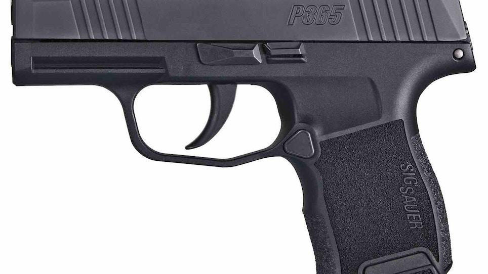 Demand High for New Pocket-Sized SIG Sauer P365 Pistol