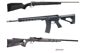 How many Savage Arms new guns will be at 2018 SHOT Show?