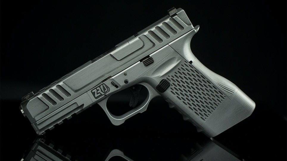 Meet the world's first fully modular pistol