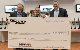 SIG SAUER Electro-Optics Donates $40,000 to HAVA