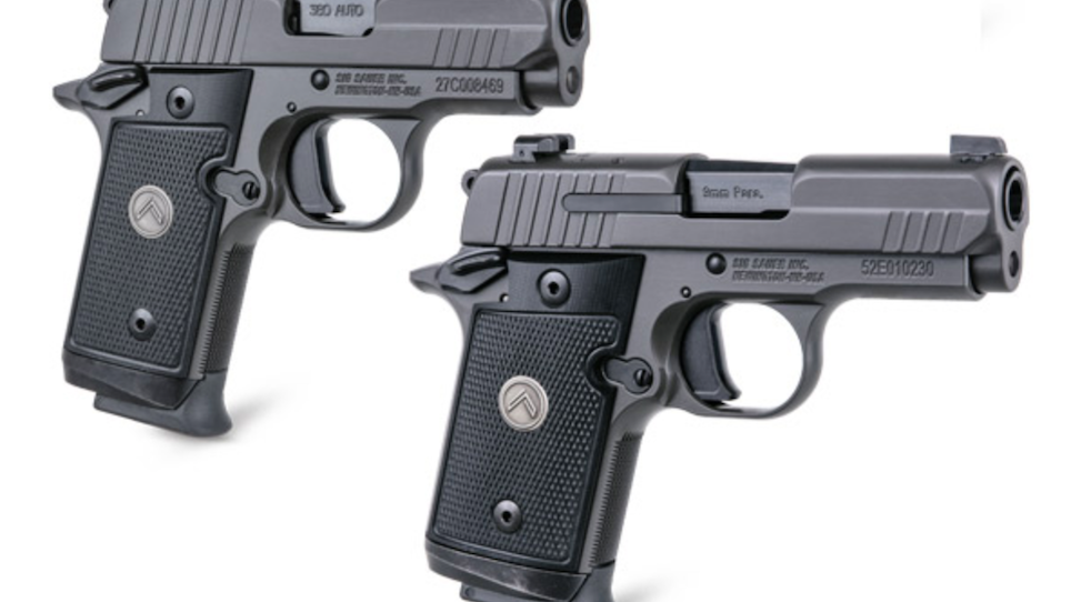 SIG SAUER Adds P938 and P238 Micro-Compact Pistols to Legion Series