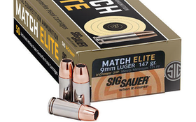 Quick Look: SIG SAUER Match Elite Pistol Competition Ammunition