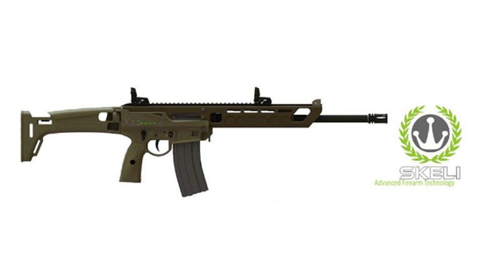 Skelico Bursts Into High-Market Rifle