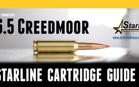 Starline Releases Free 6.5 Creedmoor Cartridge Guide