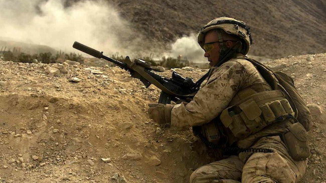 U.S. Marine Corps First Service to Adopt Weapon Suppressors for Infantry