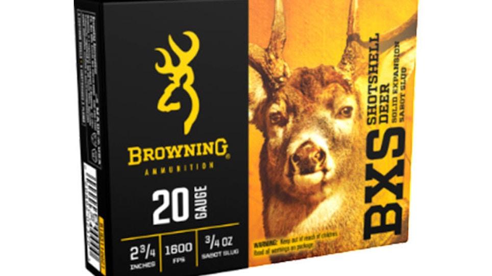 Browning Ammunition Introduces New BXS Shotshell Slug