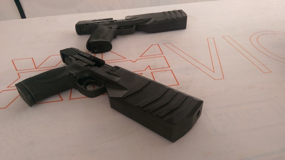 SilencerCo Intros Pistol That Would Make Robo Cop Grin