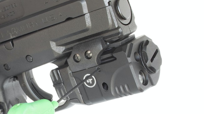 How to Install a Laser Sight on a Pistol