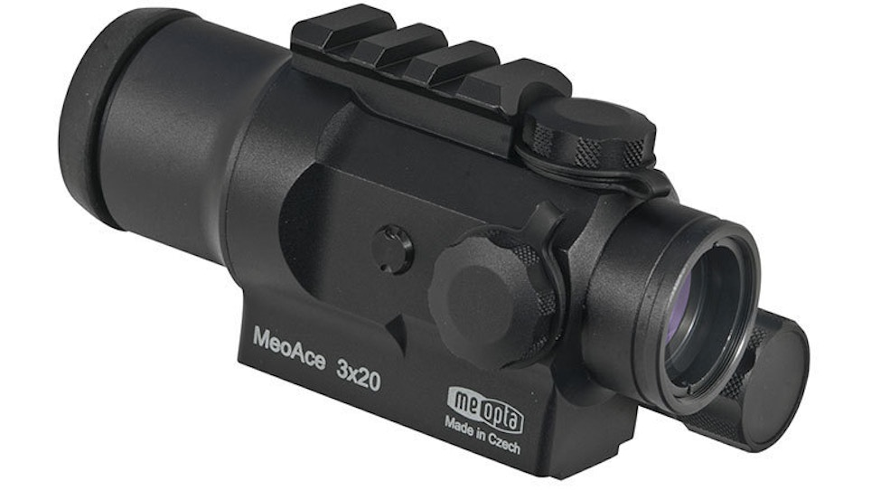 Meopta's new MeoAce 3x20 Tactical Sight available next month