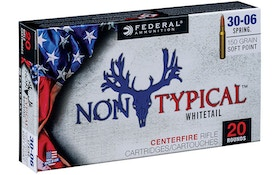 Federal's new Non-Typical deer ammo lineup features 13 options