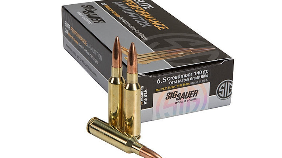 SIG introduces 6.5 Creedmoor Open Tip Match