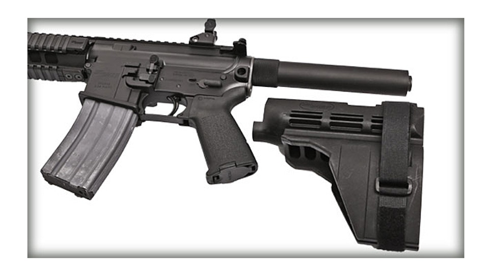 Law Blog: ATF Hasn't Changed Sig Brace Ruling...Yet