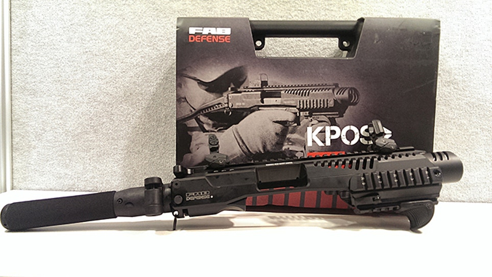 Pistol-to-PDW Conversion Kits Without The NFA Stamp