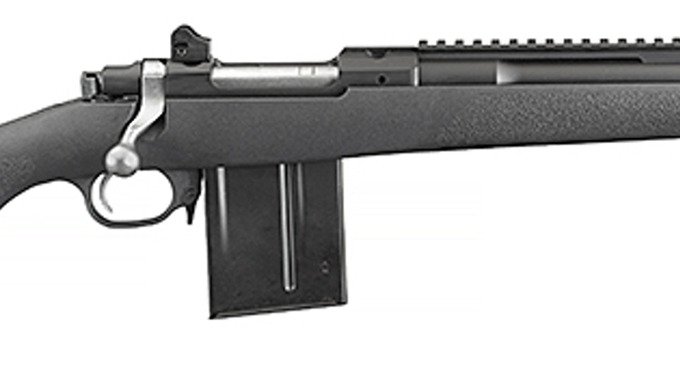 Ruger Releases Composite Gunsite Scout Rifle