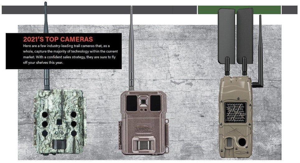 Left to right: Bushnell CelluCore, Covert WC30 and Cuddeback CuddeLink Cell
