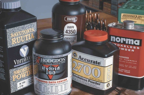Choose temperature-stable and high-energy options among the many powders on the market. Hodgdon alone lists more than 80!