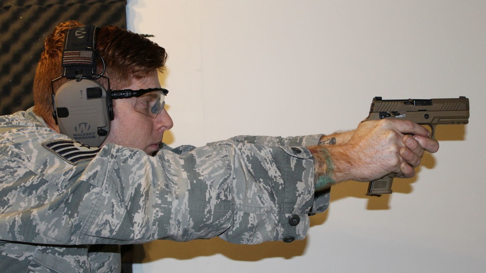 Air Force Begins Using New Sig Sauer M18 Modular Handgun System